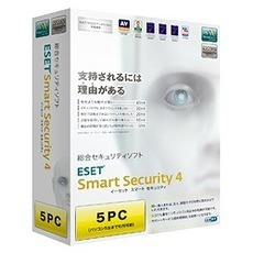 ESET Smart Security V4.0 5PC(PCソフト)