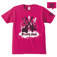 D-LIVE 2015 Tシャツ/トロピカルピンク/M