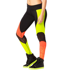 Zumba Tribe Perfect Mesh Long Leggings