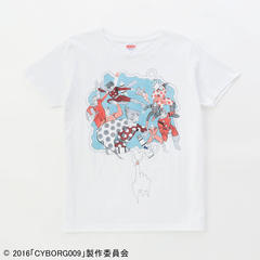 メンズCYBORG009 CALL OF JUSTICE Original T-shirt ART EMBRACE