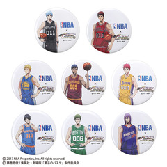 NBA×劇場版 黒子のバスケ LAST GAME 缶バッジセット(全8種)