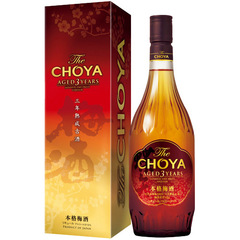 本格梅酒 The CHOYA AGED 3 YEARS 720ml