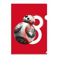 クリアファイル BB-8 STAR WARS THE LAST JEDI