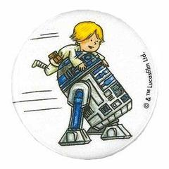 カンバッジ R2-D2 STAR WARS Jeffrey Brown