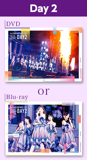 6th YEAR BIRTHDAY LIVE  Day2 DVD or Blu-ray