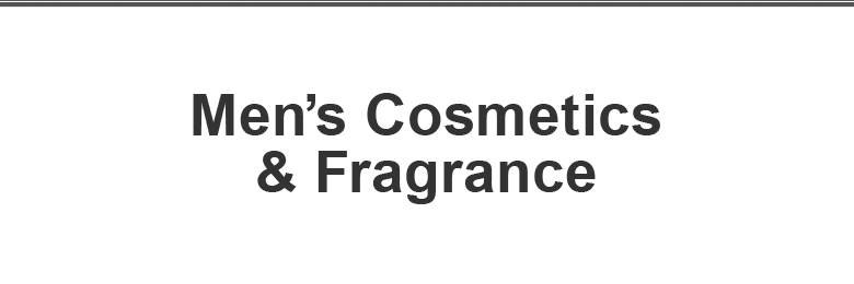 Men's Cosmetics & Fragrance