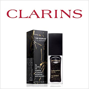 【10月18日(金)発売】『CLARINS×THE KOOPLES』
