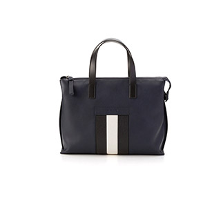 BIVIOS/57 DARK NAVY 14,CALF,PLAIN