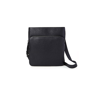 CHEMINS/00 BLACK,CALF,GRAINED