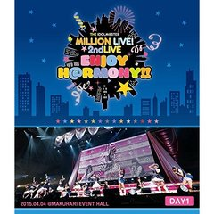 THE IDOLM@STER MILLION LIVE! 2ndLIVE ENJOY H@RMONY !! LIVE Blu-ray DAY 1(Blu-ray Disc)