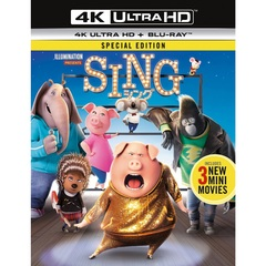 SING/シング 4K ULTRA HD+Blu-rayセット(Blu-ray Disc)
