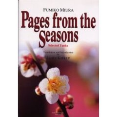 Pages from the seasons Selected tanka