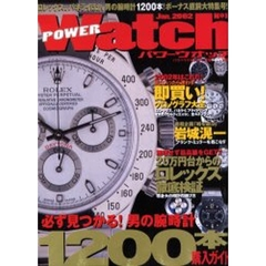 POWER Watch No.1