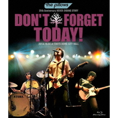 "the pillows/the pillows 25th Anniversary NEVER ENDING STORY ""DON'T FORGET TODAY!"" 2014.10.04 at TOKYO DOME CITY HA(Blu-ray Disc)"