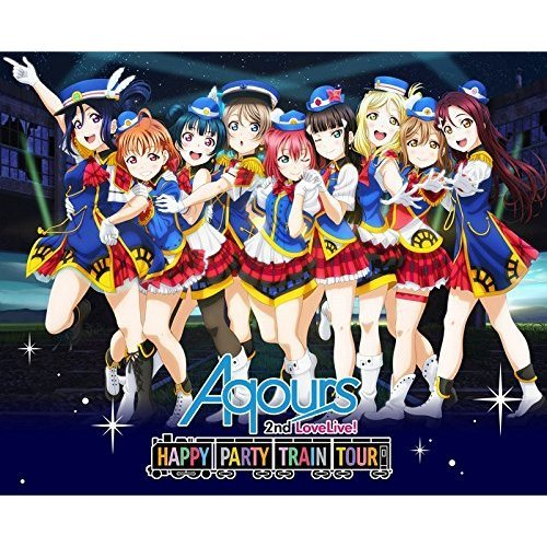 Aqours/ラブライブ!サンシャイン!! Aqours 2nd LoveLive! HAPPY PARTY TRAIN TOUR Blu-ray Memorial BOX <完全生産限定>(Blu-ray Disc)