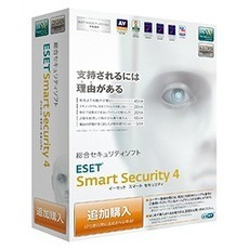 ESET Smart Security V4.0 追加購入(PCソフト)