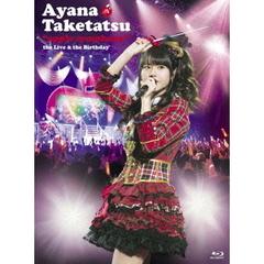 "竹達彩奈/""apple symphony""the Live & the Birthday Blu-ray(Blu-ray Disc)"