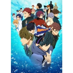 Free! -Dive to the Future- Vol.6<セブンネット限定全巻購入特典B2タペストリー付き>(Blu-ray Disc)