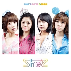 SHE'Z/2ND SINGLE:SHE'Z LOVE>SICK(輸入盤)