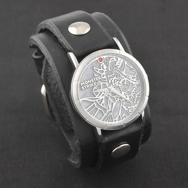 モンスターストライク × Red Monkey Designs Collaboration Wristwatch イザナミ Model Men's/BLACK