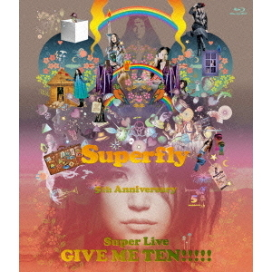 Superfly/GIVE ME TEN!!!!! 初回生産限定盤(Blu-ray Disc)