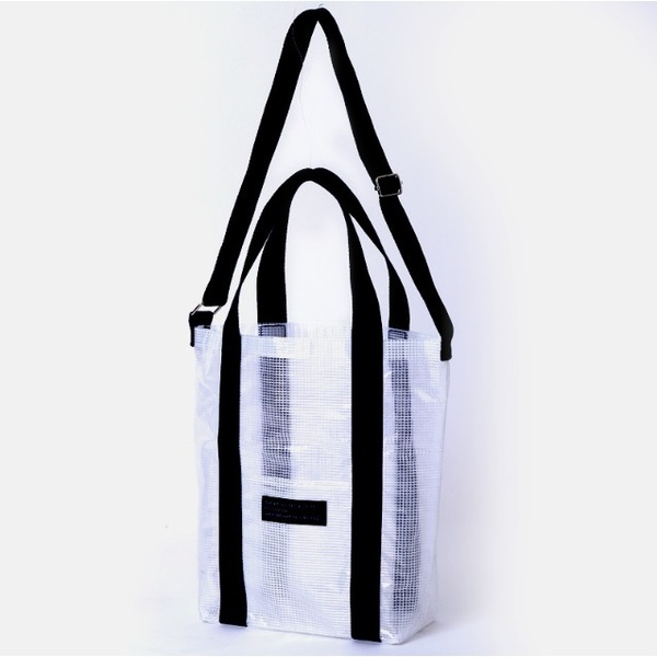 earth music&ecology CLEAR SHOULDER BAG BOOK