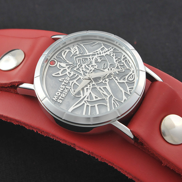 モンスターストライク × Red Monkey Designs Collaboration Wristwatch イザナミ Model Men's/CHERRY