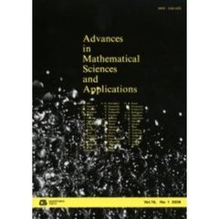 Advances in mathematical sciences and applications Vol.16,No.1(2006)