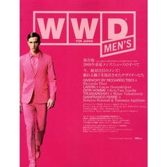 WWD FOR JAPAN MEN'S ALL ABOUT 2009 SPRING&SUMMER MEN'S