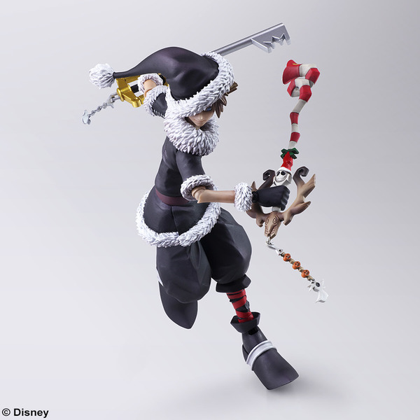 KINGDOM HEARTS II BRING ARTS <ソラ> クリスマスタウンVer.