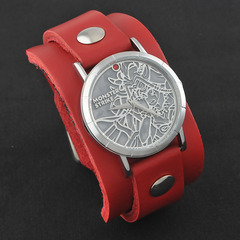 モンスターストライク × Red Monkey Designs Collaboration Wristwatch イザナミ Model Ladies'/CHERRY