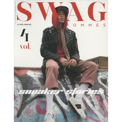 SWAG HOMMES vol.4(2017 SPRING/SUMMER ISSUE) sneaker stories