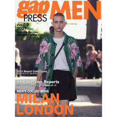 gap PRESS MEN vol.60(2021Spring & Summer) MILAN,LONDON MEN'S COLLECTIONS