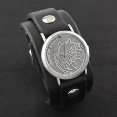 モンスターストライク × Red Monkey Designs Collaboration Wristwatch レッドドラゴン Model Men's/BLACK