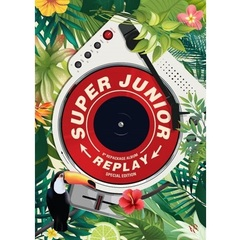 SUPER JUNIOR/VOL.8 REPACKAGE:REPLAY(SPECIAL ALBUM/限定盤)(輸入盤)