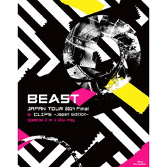 BEAST/BEAST JAPAN TOUR 2014 & CLIPS ~Japan Edition~ Special 2 in 1(Blu-ray Disc)