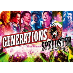 GENERATIONS LIVE TOUR 2016 SPEEDSTER <通常版Blu-ray2枚組(スマプラ対応)>(Blu-ray Disc)