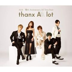AAA/AAA 15th Anniversary All Time Best -thanx AAA lot-【AL4枚組】
