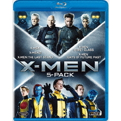 X-MEN ブルーレイBOX <5枚組 『X-MEN:フューチャー&パスト』収録/初回生産限定>(Blu-ray Disc)