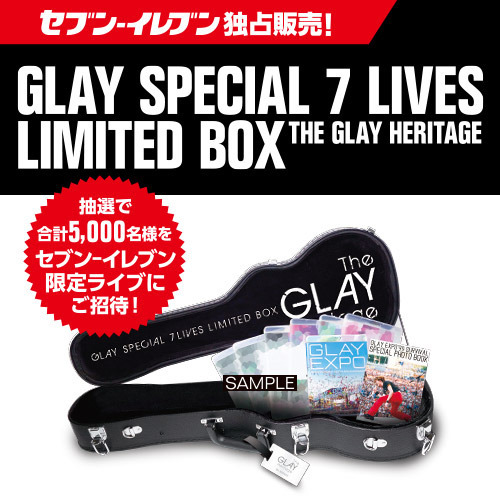 GLAY SPECIAL 7 LIVES LIMITED BOX THE GLAY HERITAGE<セブン-イレブン・セブンネット限定>(Blu-ray Disc)