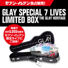 GLAY SPECIAL 7 LIVES LIMITED BOX THE GLAY HERITAGE<セブン-イレブン・セブンネット限定>(Blu-ray Disc)(Blu-ray)