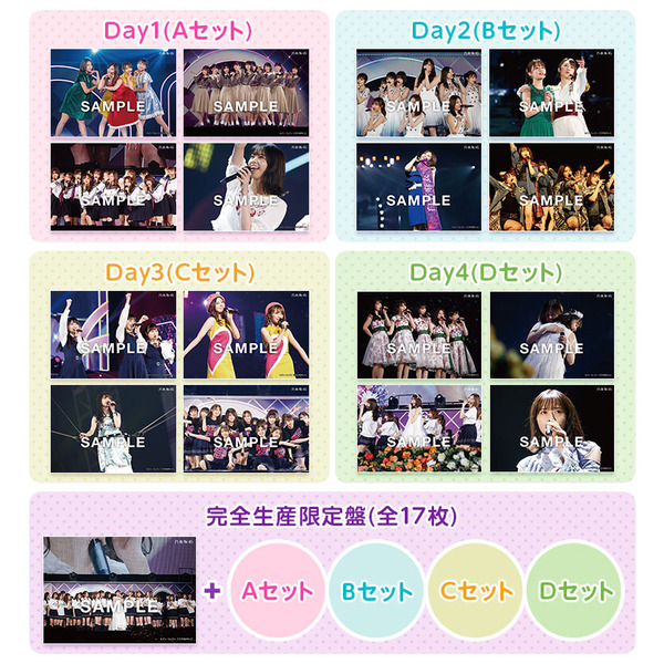 乃木坂46/7th YEAR BIRTHDAY LIVE Blu-ray 完全生産限定盤<セブンネット限定特典:ライブ生写真ABCDセット+1枚(17枚)付き>(Blu-ray Disc)(Blu-ray)