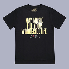 「namie amuro Final Space」Tシャツ BLACK Mサイズ