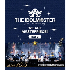 THE IDOLM@STER 9th ANNIVERSARY WE ARE M@STERPIECE!! Blu-ray 東京公演 Day2[LABX-8097/8][Blu-ray/ブルーレイ]
