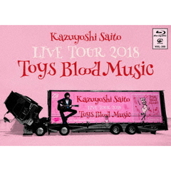 斉藤和義/KAZUYOSHI SAITO LIVE TOUR 2018 Toys Blood Music Live at 山梨コラニー文化ホール 2018.6.2(Blu-ray Disc)