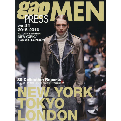 gap PRESS MEN vol.41(2015-2016Autumn & Winter)
