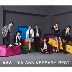 AAA 10th ANNIVERSARY BEST(DVD付)