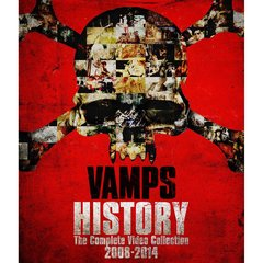VAMPS/HISTORY ~The Complete Video Collection 2008-2014 初回限定版/A(Blu-ray Disc)