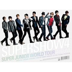 SUPER JUNIOR / 4TH WORLD TOUR SUPER SHOW 4 (輸入盤 3CD)