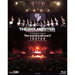 THE IDOLM@STER 5th ANNIVERSARY The world is all one!! 100704(Blu-ray Disc)